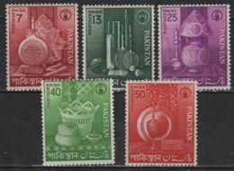 Pakistan (1962) Yv. 166/70  /  Art - Pakistan