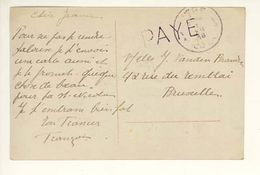 08 12 1918  PAYE Liege - Postmark Collection