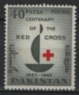 Pakistan (1963) Yv. 177 /  Red Cross - Croix Rouge - Rote Kreuz - Pakistan