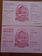 BUVARD / NOUVEAUX : PHARMACIE FONTAINE COMPIEGNE - OISE - Buvards, Protège-cahiers Illustrés