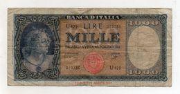 Italia - Banconota Da Lire 1.000  Italia Ornata Di Perle/Medusa - Decreto 25 Settembre 1961 - (FDC8565) - [ 2] 1946-… : Républic