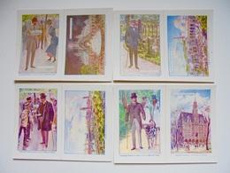 Exposition De Paris 1900, 4 Publicités High Life Tailor's - Publicités