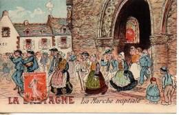 29 LA BRETAGNE  La Marche Nuptiale - Francia