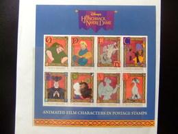 ST. VINCENT The GRENADINES 1996 WALT DISNEY Le Bossu De Notre-Dame Yvert 2863 / 70 ** MNH - Disney