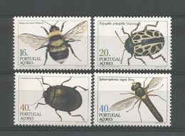 Azores 1985  Insects  Y.T. 358/361 ** - Insects