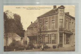 "-*   CONTICH  .* = """"Huis  En  Werkplaatsen G. Verstappen-Schroyens-- Antwerpsche Steenweg , 1.  """" - Kontich"