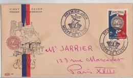 France 1er Jour, Bi-millénaire De Paris Musée De Cluny 7.07.1960 - 1921-1960: Modern Period