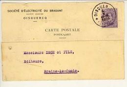 T139   04 10 1923  Etoile Oisquercq - Cachets à étoiles