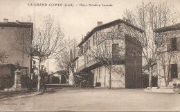 30  LA GRAND COMBE  Place Mathieu Lacroix  1948 - La Grand-Combe
