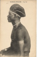 CPA  COLONIES AFRICAINE  Type Fan  TBE - Postcards