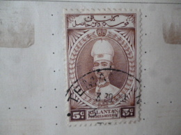KELANTAN OLD FINE USED/POSTMARK AS PER SCAN - Kelantan