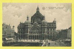 * Antwerpen - Anvers - Antwerp * (Albert, Nr 8) Middenstatie, Gare Centrale, Bahnhof, Railway Station, Tram, Vicinal - Antwerpen