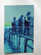OLANDA HOLLAND Fisherman AK Old Postcard - Altri