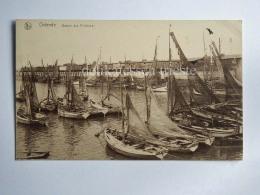 BELGIO BELGIUM OOSTENDE OSTENDE Ship Sailing Boat Barques De Peche AK Old Postcard - Oostende