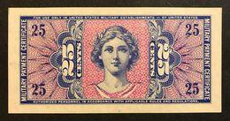 Series 541 25 Cents USA MPC Military Payment Certificate Q.fds Lotto 455 - Certificats De Paiement Militaires (1946-1973)