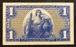 Series 541 1 Dollar USA MPC Military Payment Certificate Forellini Q.spl Lotto 458 - Certificats De Paiement Militaires (1946-1973)