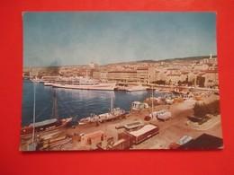 A4-Postcard-Rijeka,Fiume,Port,Harbor,Ship, - Croazia