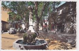 13 GRANS Le Cours C Pelletan ,fontaine - Autres Communes