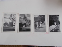 B681  4 Foto Merano Cm6,5x9,5 Pieghine Angoli - Fotografia