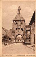 GUEMAR Entrée Du Village 1950 - Autres Communes