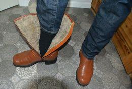 Men's Sheep Necks Winter Boots 43.5 - Uniform