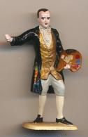 Figurine MOKAREX : JEAN-HONORE FRAGONNARD (1732-1806), Personnage Historique, Peintre, Belle Peinture à La Main, 2 Scans - Figurines