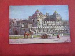 Tuck Series Delhi Gate Fort Agra Ref 2860 - India