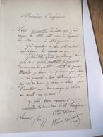 NAMUR - Henri Lemaitre - Lettre 1877 De Namur Pour TAMINES - Autographes