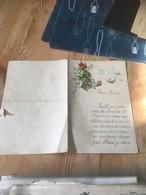 SAINT JOSSE TEN NOODE Faire-part Nouvel An Deco Relief 1892 à Voir - Faire-part