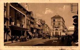 78 - SAINT-GERMAIN-en-LAYE - Rue Du Vieux-Marché - Le Crédit Lyonnais - St. Germain En Laye