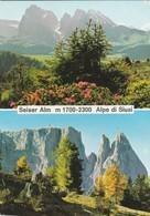 CARTOLINA - POSTCARD - BOLZANO - ALPE DI SIUSI - Bolzano (Bozen)