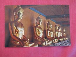 Thailand Gallery Of Buddha Statues In Wat Pho Bangkokref 2860 - Thailand