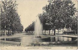 Montpellier - L'Esplanade - Montpellier