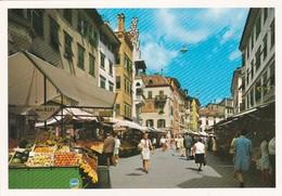 CARTOLINA - POSTCARD - BOLZANO - PIAZZA DELLE ERBE - Bolzano (Bozen)