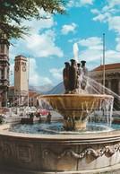 CARTOLINA - POSTCARD - BOLZANO - LA STAZIONE CON LA FONTANA - Bolzano (Bozen)