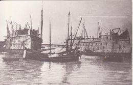 Photo - Drache Et Salamander En Construciton (1861) - Boats