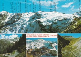 CARTOLINA - POSTCARD - BOLZANO - SALUTI DAL PASSO STELVIO M. 2760 - Bolzano (Bozen)