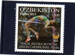 2015 Uzbekistan - Campionati Mondiali Di Atletica A Pechino - Atletismo