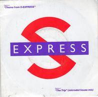 Disque 45 Tours S EXPRESS - (1988 VIRGIN) - 2 Titres - Disco, Pop