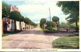 N°4153 A -cpa Vibraye -avenue Gabriel Goussault- - Vibraye