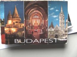 Hongarije Ungarn Magyar Budapest Bastei Kirche - Hongarije