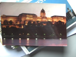 Hongarije Ungarn Magyar Budapest Castle By Night - Hongarije