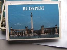 Hongarije Ungarn Magyar Budapest Millenium Monument - Hongarije