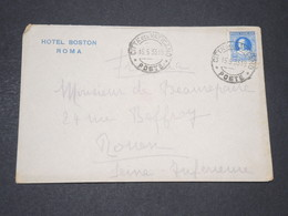 VATICAN - Enveloppe D 'Hôtel Pour La France En 1933 - L 14225 - Lettres & Documents