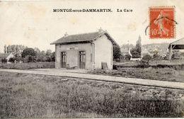 77 MONTGE SOUS DAMMARTIN - LA GARE - Autres Communes