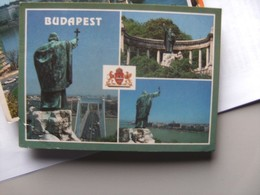 Hongarije Ungarn Magyar Budapest Statue Of St Gerard - Hongarije