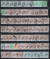 Malaysia Perak  Small Accumulation Of Stamps From 1935 - 38. - Perak