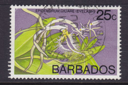 Barbados 1974 Mi. 374 X    25c. Orchidee Orchid Wmk. 7 - Barbados (1966-...)