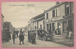57 - SAINTE MARIE Aux CHENES - Hauptstrasse - Grand Rue - Tabacs & Cirages Joseph HAERTY - Sin Clasificación
