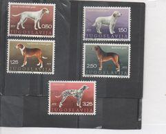 YOUGOSLAVIE - Chiens De Raceyougoslaver : Braque Tricolore, Dalmatien, Chien Courant Des Balkans, - Dogs